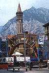 Structural view of bouldering world cup, Lecco 2002